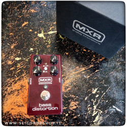 MXR M85 BASS DISTORTION...